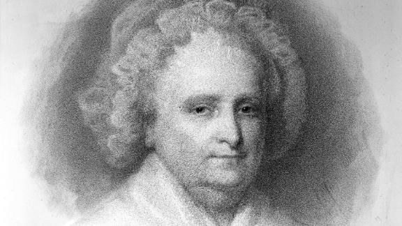 """Martha Washington was the first """"first lady"""" -- although she wasn't called that at the time. Born Martha Dandridge on a Virginia plantation in 1731, she was a wealthy widow and mother when she married George Washington in 1759.   When he became the country's first president 30 years later, Martha took on the role of presidential hostess. Often referred to as Lady Washington, she set a precedent for the unofficial position with her hospitality skills. She and her husband also set a precedent for relying on enslaved labor in the presidential home; many of the next 15 presidential households through emancipation in 1863 did the same.  Served: 1789 - 1797"""