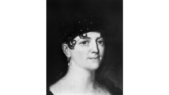 """Elizabeth Monroe was born Elizabeth Kortright into a distinguished New York family. She spent time in France with husband James Monroe at the request of George Washington, and they picked up a very European approach to life -- so much so that the French called her  """"la belle Americaine."""" As first lady she imported some of their more formal customs for White House social events.   Served: 1817 - 1825"""