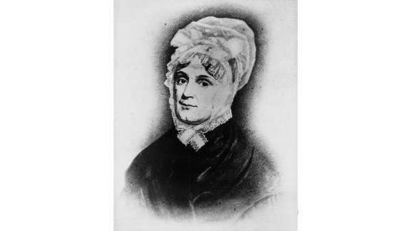 """Anna Harrison wasn't thrilled at the idea of becoming first lady, and she never had to serve in the role in the traditional sense. A religious woman in poor health, she stayed behind in Ohio while husband William Harrison went to Washington for his inauguration in 1841. """"I wish that my husband's friends had left him where he is, happy and contented in retirement,"""" she's quoted as saying upon word of his election win.  But Harrison's term only lasted from March 1841 to April 1841, when he died; while he was in office, their daughter-in-law Jane was his White House hostess."""