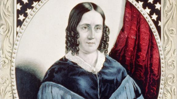 Sarah Polk was considered progressive among the women of her era -- she was childless at a time when women were expected to become mothers, and she was incredibly politically engaged.  Born wealthy on a Tennessee plantation, the highly educated first lady was a political partner to President Polk. She privately helped with speeches, gave advice and marked news articles for him to read. She was religious and didn't embrace the drinking and dancing aspect of being a first lady, but was still well-liked and well-respected.   Served: 1845 - 1849