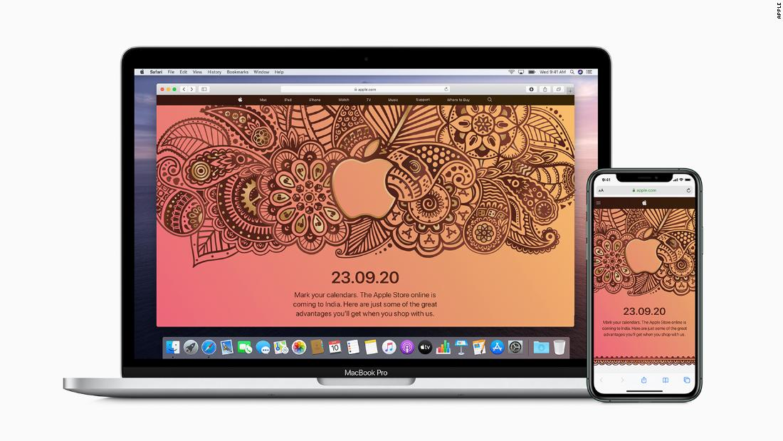 Apple finally launched an online store in India - CNN