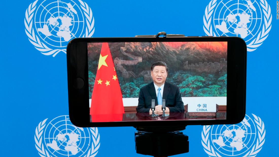 Xi Jinping pledges to make China carbon neutral by 2060