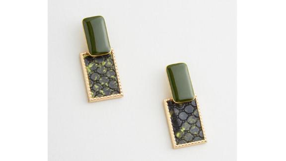Modcloth Boa Bauble Earrings