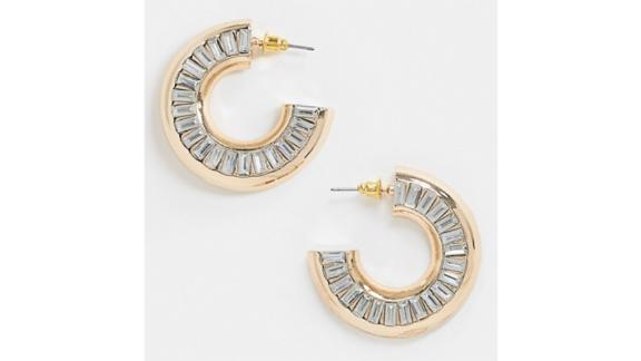 Asos Design Hoop Earrings