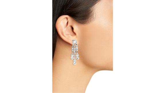 Cristabelle Crystal Chunky Drop Earrings