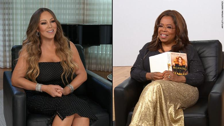 Mariah Carey sits down with Oprah Winfrey and spills all about her upcoming book