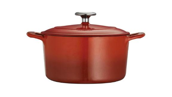 Tramontina Gourmet Enameled Cast-Iron Round Dutch Oven
