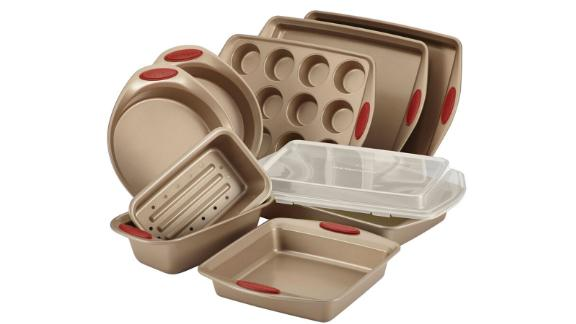 Rachael Ray Cucina Nonstick 10-Piece Bakeware Set