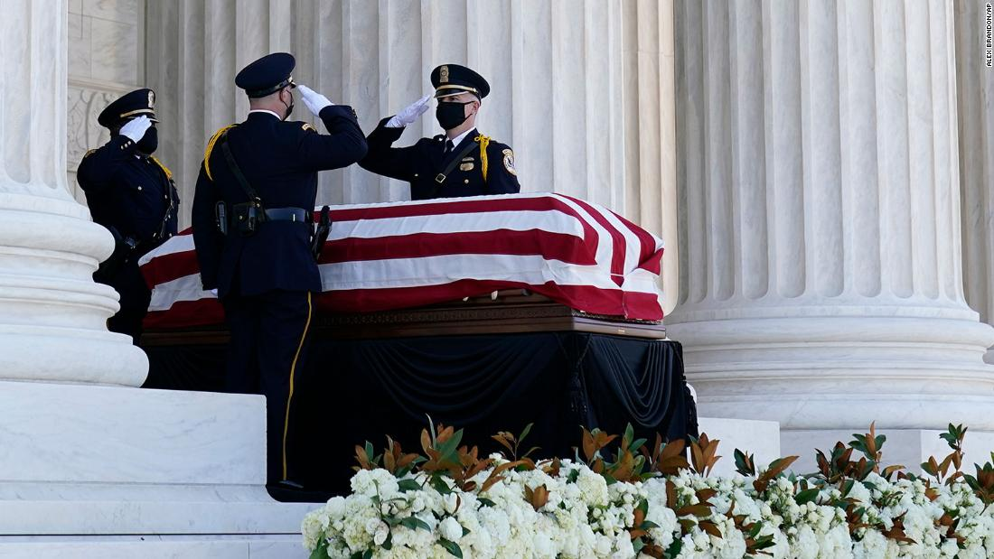 Live updates: Ruth Bader Ginsburg Supreme Court memorial