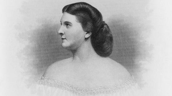 """Without Harriet Lane we may not use the term """"first lady"""" at all -- and ironically, she was never married to a president. When her bachelor uncle and guardian James Buchanan started his term, a 27-year-old Harriet, who'd been orphaned as a kid, stepped up as hostess.   After a series of not-quite-interested first ladies in the White House, Harriet revived the role of the presidential hostess as part social guru and part political wizard. Harriet could throw a great party; had enviable style; diplomatic skill; and was well-liked by all -- prompting the press to dub her in print as the """"first lady of the land.""""  Served: 1857 - 1861"""