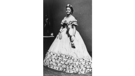 Mary Todd Lincoln may be one of the most misunderstood first ladies in American history.   She was known for being a supportive sounding board to her husband throughout his political career, and for taking her role as the White House hostess seriously -- perhaps too much so in the eyes of critics, who noted how quickly and easily she burned through money. If it wasn't her spending, she was critiqued for other actions; it seemed in a divided nation at war, neither side truly trusted or accepted first lady Lincoln.   Served: 1861 - 1865