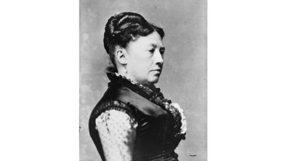 """When Ulysses S. Grant's military status helped put him on the path to the presidency, wife Julia Grant embraced their new status with open arms. She was a willing and eager White House host who was known for extravagant entertainment.   But like her predecessors, her focus wasn't all on decorations and events -- she was invested in politics, too, and is counted among her husband's advisers. She loved being a first lady so much she called those years """"the happiest period"""" of her life.   Served: 1869 - 1877"""