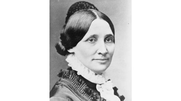 """The first president's wife to earn a college degree, Lucy Hayes was a politically savvy partner to President Rutherford B. Hayes.   Loved by the public and the press, Hayes was a popular first lady known for her charitable acts and commitment to temperance, even while cheerfully hosting events and concerts. Hayes abstained from alcohol and kept a dry White House -- later leading to the nickname """"Lemonade Lucy.""""  Served: 1877 - 1881"""
