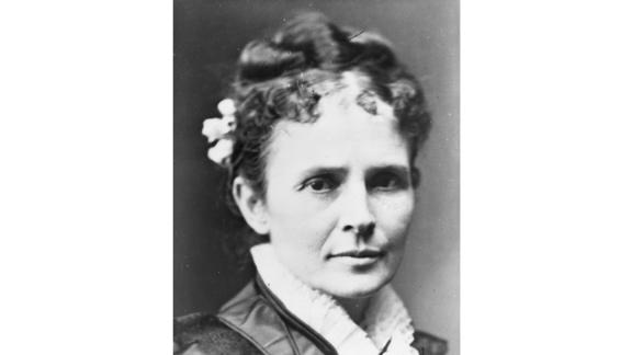 Well-educated and literary, First Lady Lucretia Garfield was less inclined to the social aspects of her role as she was toward the political. But during her brief tenure as first lady, she did fill her hostess duties as best she could -- restoring parts of the White House and even reinstating alcohol after the Hayes administration's dry policy.  She had a short run as first lady because President James Garfield was shot in July 1881. For three months, Lucretia was a steady presence by his side, helping maintain the short-lived Garfield presidency until his death that September.  Served: 1881