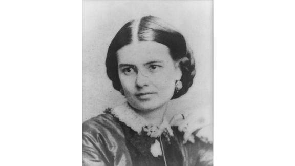 Born into a well-connected Virginia family, Ellen Arthur, pictured here, never got the chance to serve as first lady. She died more than a year before her husband Chester Arthur became president, following his predecessor James Garfield's assassination.   Arthur's sister, Mary Arthur McElroy, filled in as White House hostess from 1881 to 1885. But President Arthur had been so bereaved by the loss of his wife, he never gave his sister formal recognition as first lady.