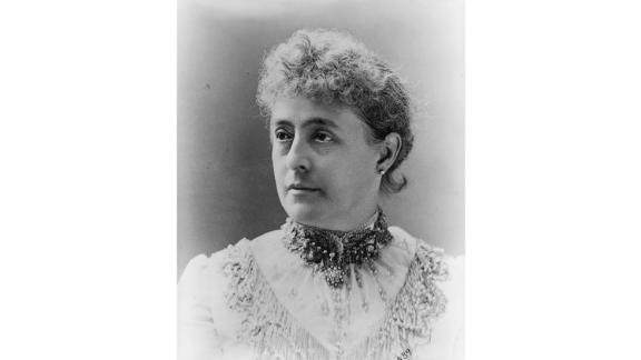 Following a very popular first lady wasn't easy, but Caroline Harrison was remembered as an elegant hostess who gave special attention to the presidential residence before dying of tuberculosis while her husband was still in office.    She persistently lobbied to renovate and update the executive mansion, even overseeing the installation of electric lighting. And she curated the first ever White House china collection. Outside of her work in the White House, she also helped create the National Society of the Daughters of the American Revolution (DAR).  Served: 1889 - 1892, when she died. Her daughter helped take over her duties until the end of President Benjamin Harrison's term.