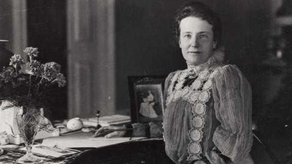 When her husband became POTUS following the death of President McKinley, Edith Roosevelt took on the role of first lady and whipped the White House affairs into shape.  Known for running a tight ship, Edith Roosevelt created some of the bureaucracy we see around the role of first lady today, including an official staff with a full-time, salaried social secretary. She was also a reliable, clear-eyed confidant for President Theodore Roosevelt, helping to support his presidency from behind the scenes.   Served: 1901 - 1909