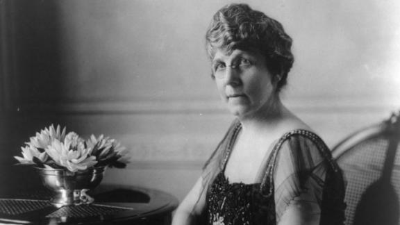 """From the beginning, the wealthy Florence Harding was a vocal partner with husband Warren G. Harding, starting with their newspaper and including his path to the presidency.   Seeing her husband's potential, Florence Harding helped steer him toward success, including into the Oval Office. """"I have only one real hobby,"""" she's quoted as saying. """"My husband.""""   Once in the White House, she took on the standard hostessing duties in addition to operating as a core political adviser. She helped shape her husband's cabinet in addition to advocating for her own causes -- from gender equality to support for wounded veterans -- up until her husband's sudden death in 1923.  Served: 1921 - 1923"""