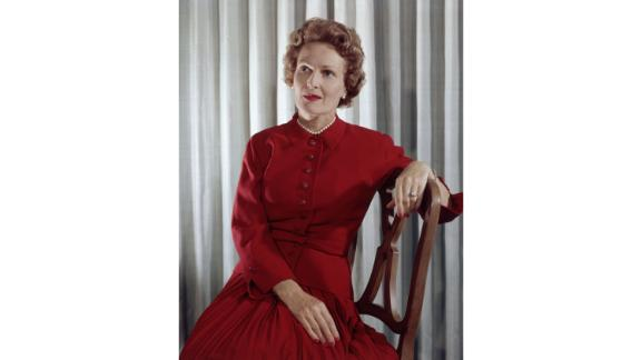 """The word many use to describe Pat Nixon as first lady is """"dignified"""": even through the Watergate scandal, the wife of President Richard Nixon kept a cool head. While she wasn't one to pontificate in front of the press, she was a first lady with strong opinions about politics and a drive to help others.  In fact, when she was asked about her focus as first lady, she responded simply, """"People."""" Her diplomacy led to her traveling frequently as a personal representative of the president, sometimes with President Nixon and sometimes without. It was during a trip to China that Pat Nixon's skills helped secure two giant pandas for the US.  Served: 1969 - 1974"""