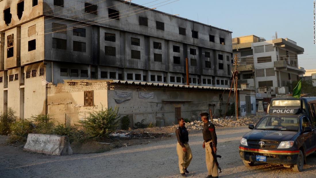 Pakistani court rules deadly 2012 blaze was arson, sentences two to death