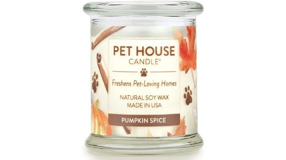 One Fur All - 100% Natural Soy Wax Candle, Pumpkin Spice