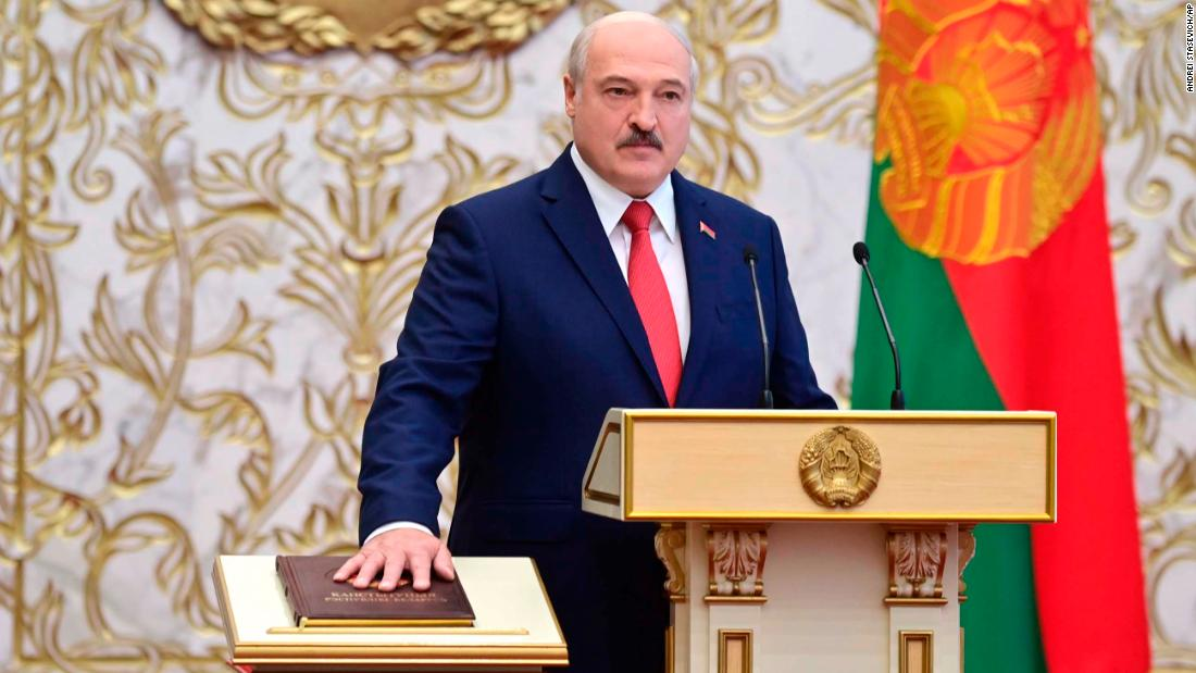 Lukashenko's surprise inauguration is a 'thieves' meeting,' Belarus opposition says