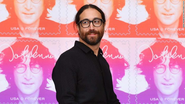 Sean Lennon hosting 80th birthday celebration for dad and chatting with Paul McCartney