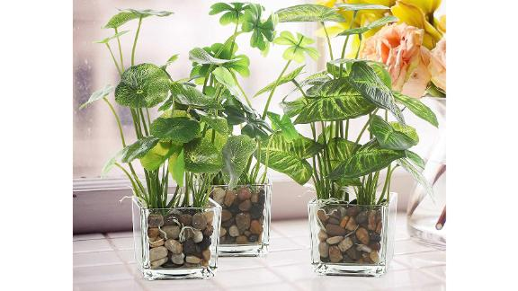 MyGift Set of 3 Artificial Plants