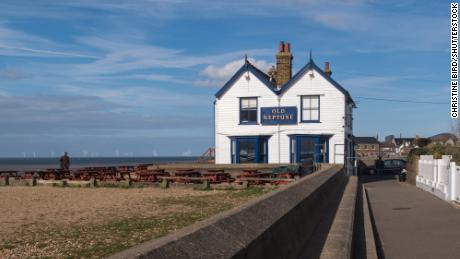 The Old Neptune public house in Whitstable, pictured here in April 2016.