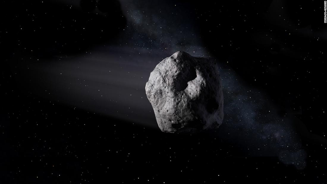 A newly discovered asteroid will pass close to Earth on Thursday – CNN