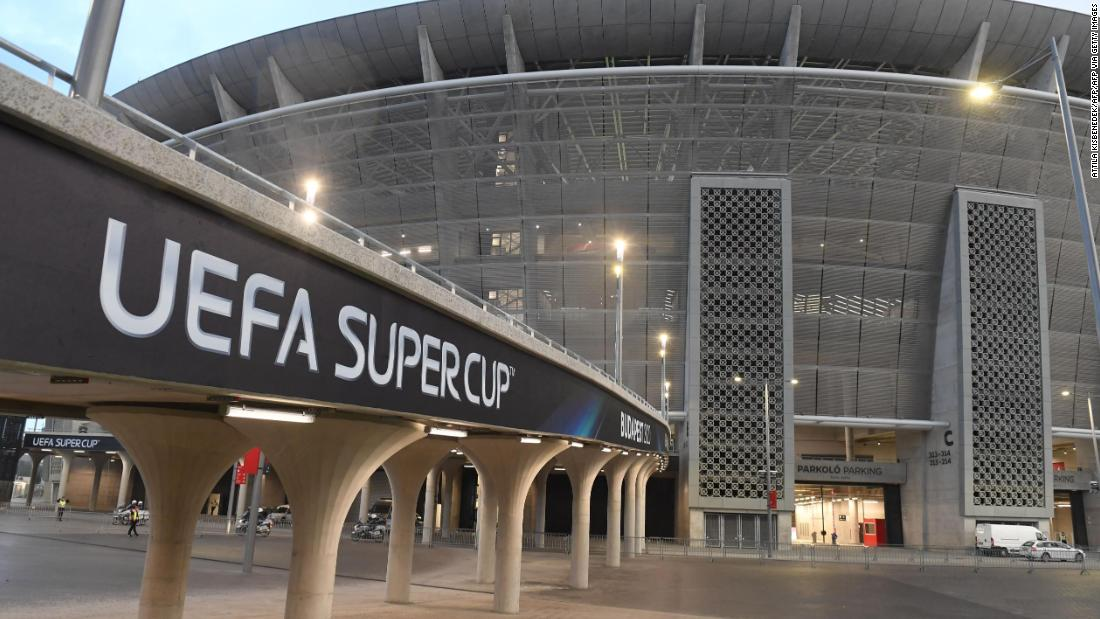 Budapest welcomes 20,000 fans for UEFA Super Cup amid growing coronavirus fears