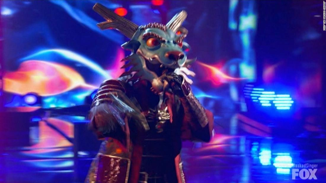 'The Masked Singer' starts season with the Dragon's identity