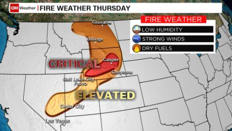 Remnants of Beta flood the Southeast while parts of the West brace for more fire weather