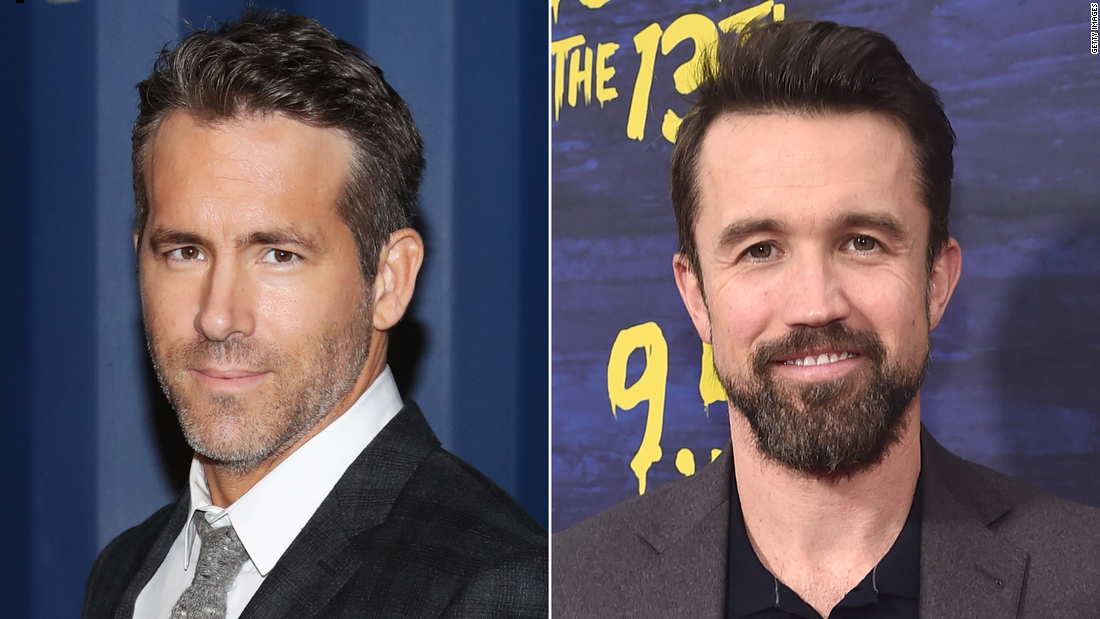 Actors Ryan Reynolds and Rob McElhenney are set to complete takeover of Welsh soccer team