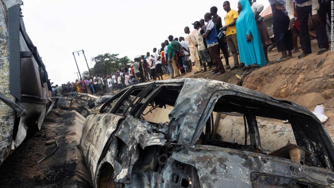 Nigerian gas tanker explosion kills at least 28