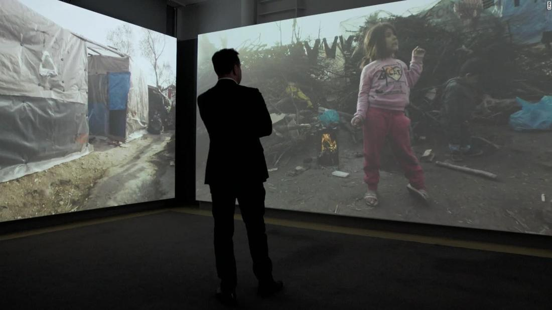 Exhibition offers 'time machine' look at refugees' living conditions