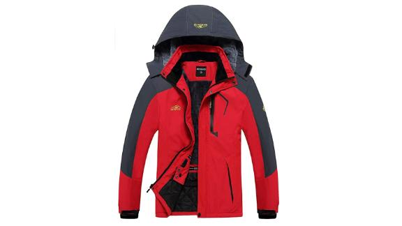 Equick Men's Waterproof Fleece Ski Jacket