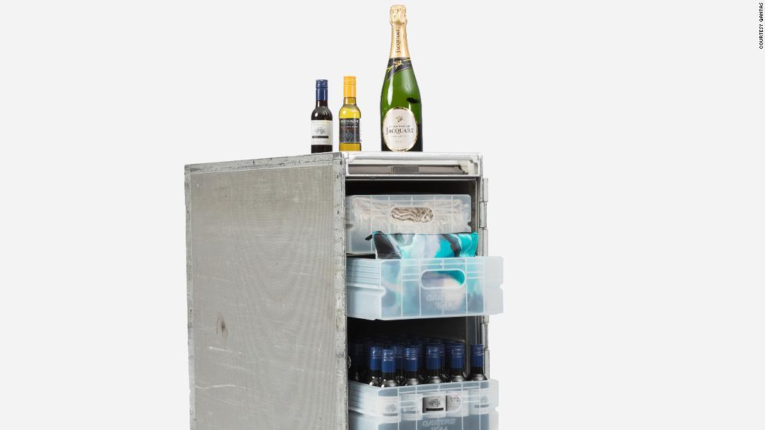 Qantas puts former 747 bar carts on sale