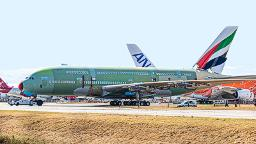 Last ever Airbus A380 is assembled in France