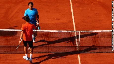 Nadal and Djokovic last met at the French Open in 2015, which Djokovic won.