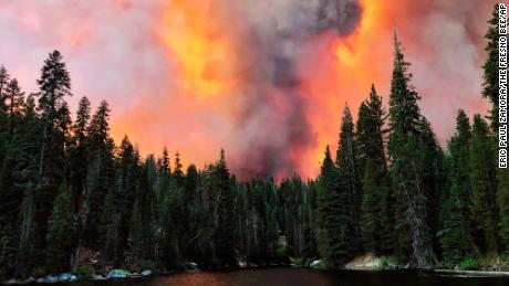 California's largest single wildfire spawned two massive Firenados - one was an EF2