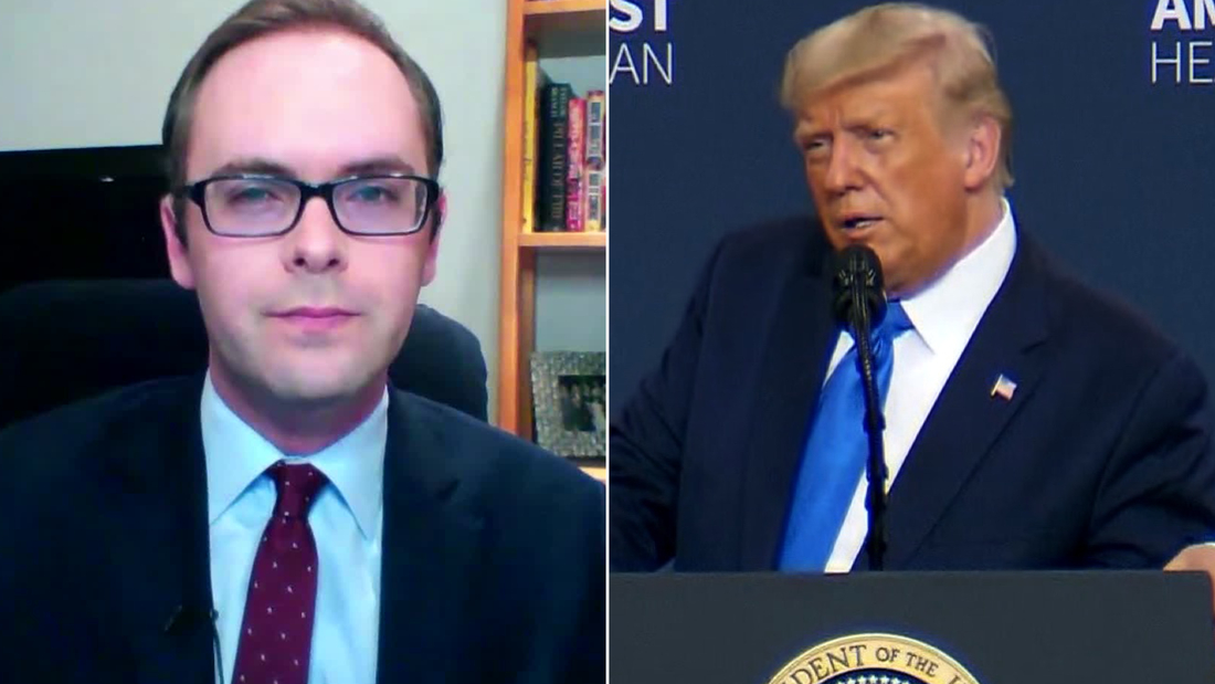 'Completely ridiculous': CNN's Daniel Dale fact-checks Trump on health care