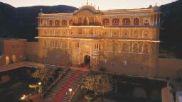 Live like Rajasthani royalty at this 475-year-old palace hotel