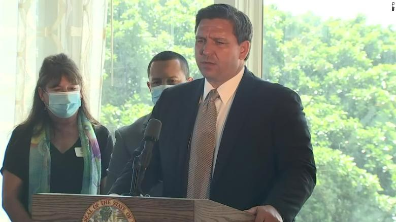 Florida Gov. Ron DeSantis signs order clearing restaurants and bars to fully open