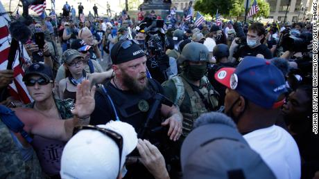 Street Violence An Election Scenario That Should Frighten Everyone Especially Black America Cnn
