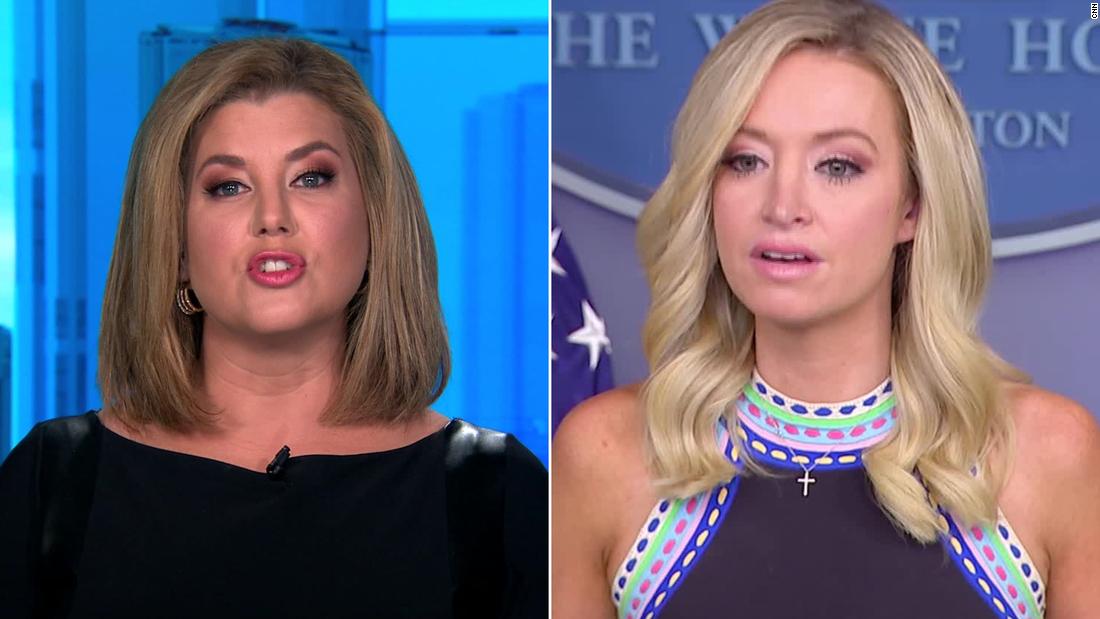 CNN's Brianna Keilar responds to White House attack