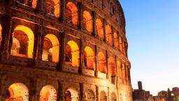 Colosseum: Irish tourist accused of defacing Rome monument