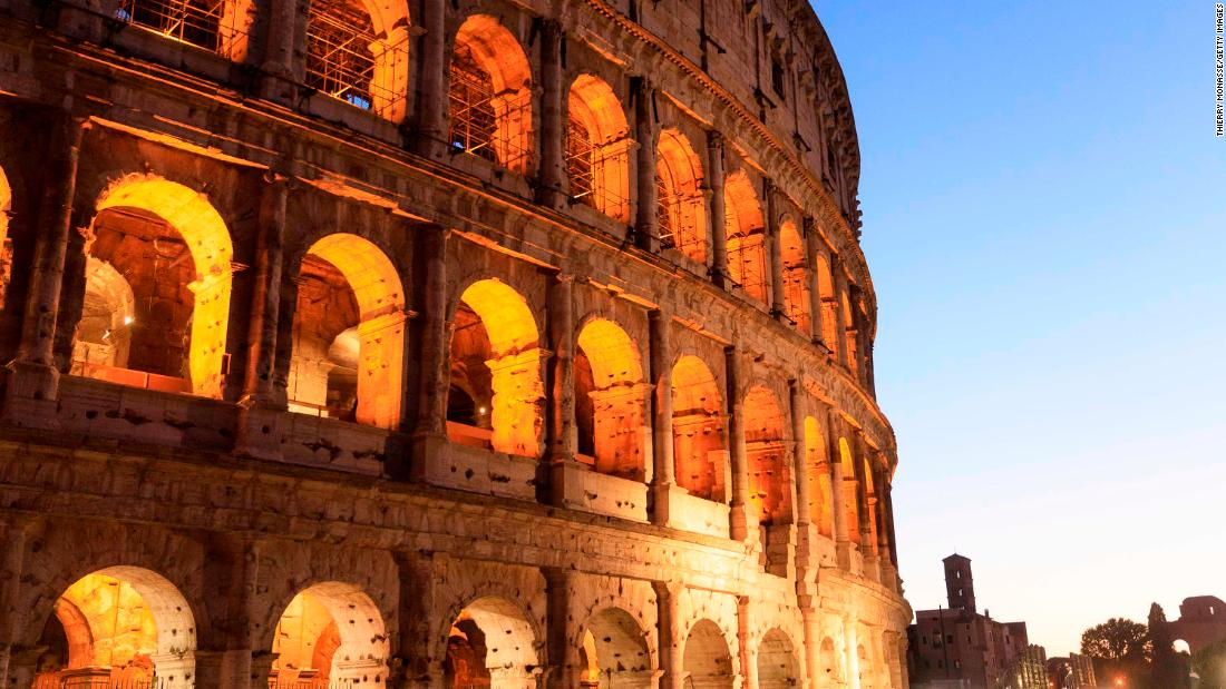Tourist accused of defacing Rome's Colosseum