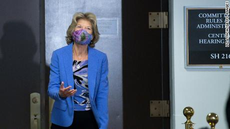 Sen. Lisa Murkowski, pictured on Capitol Hill this week, called for a permit for Pebble to be denied.