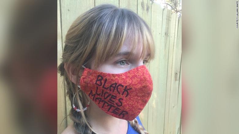 A Texas teacher was fired for wearing a Black Lives Matter face mask